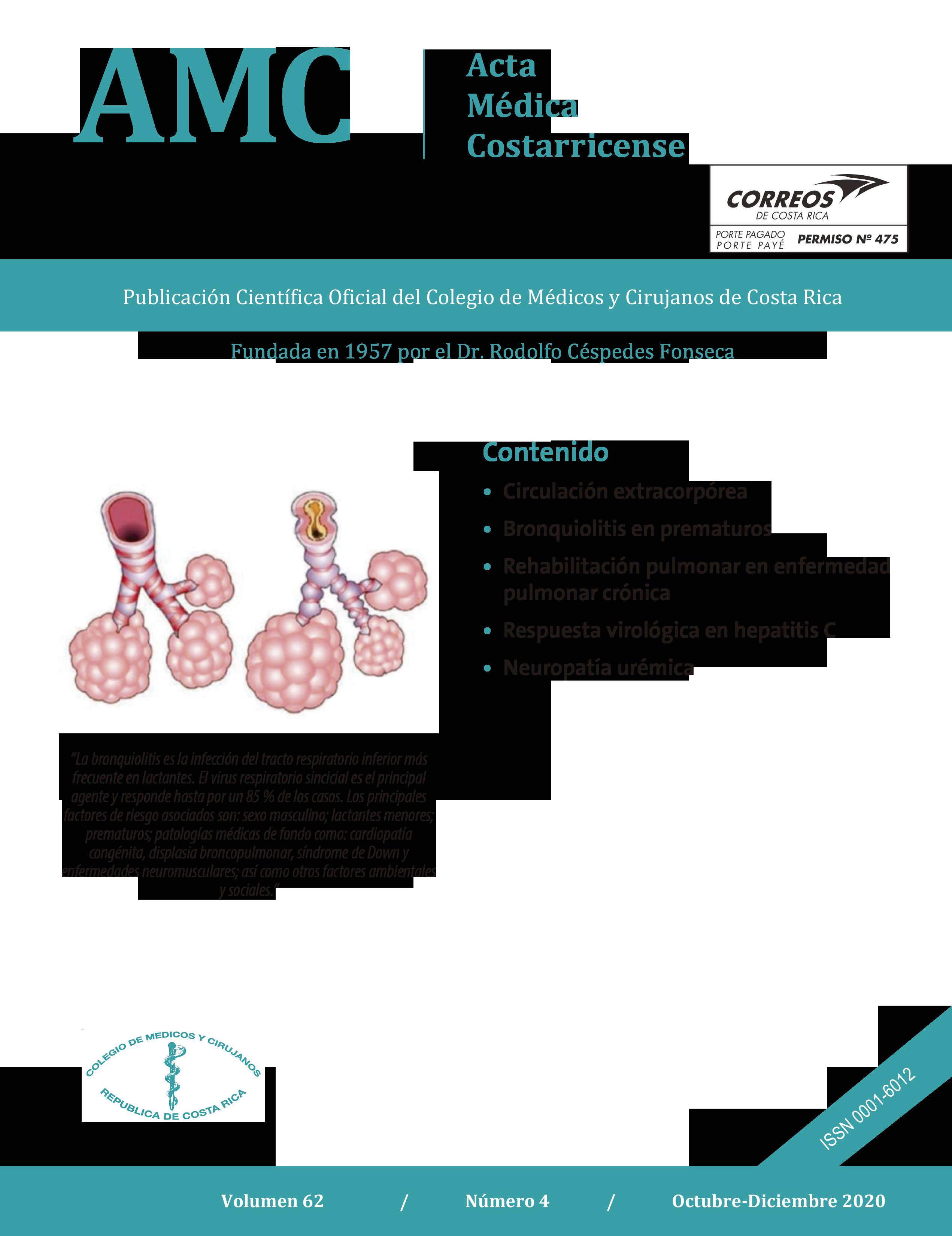 Ver Vol. 62 Núm. 4 (2020): Acta Médica Costarricense Octubre-Diciembre