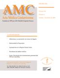 Ver Vol. 46 Núm. 2 (2004): Acta Médica Abril-Junio 2004